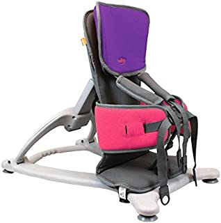 Firefly by Leckey GoTo Postural Support Seat - Lightweight Portable Supportive Seat for Children with Special Needs – Floorsitter and Standard Headrest - Purple, Size 1