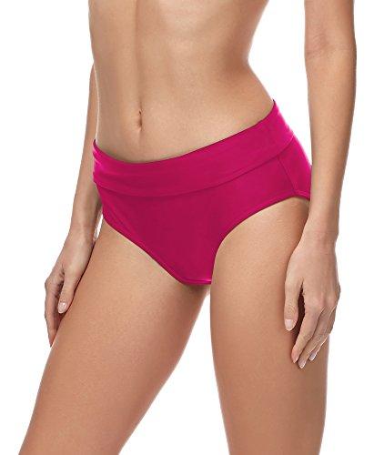 Merry Style Bragas Braguitas de Bikini Parte de Abajo Bikini Trajes de Baño Mujer MSVR5 (Amaranto (4140), 38)