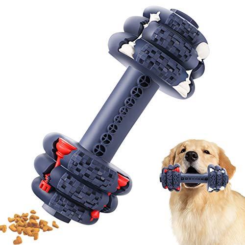 G.C Juguetes para Masticar Perros Resistentes Interactivos Juguetes para Mascotas de Caucho Natural para Perros Medianos y Grandes