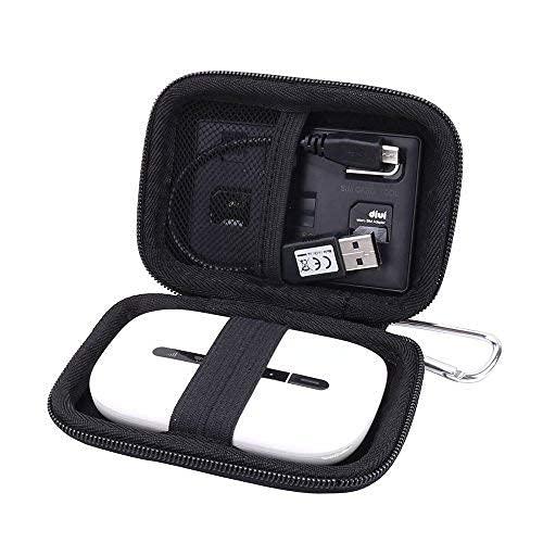 Reise Hart Taschen Hülle für Huawei E5576 E5577C E5573 4G LTE MiFi Mobiler Wi-Fi WIR Hotspot/WLAN Router von Aenllosi