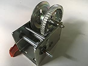 Dutton-Lainson Single Speed Hand Winch with Automatic Brake - 2500-Lb. Capacity, Model Number DLB2500A