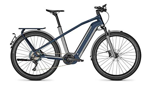 "Kalkhoff Endeavour 7.B Excite 45 Bosch Speed Elektro Bike 2020 (27.5"" Herren Diamant L/53cm, Jetgrey/Sydneyblue Matt)"