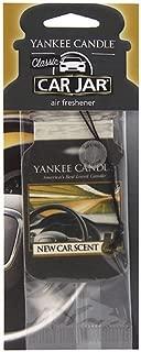 Yankee Candle New Car Car Jar Air Freshener, One Pack