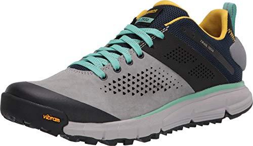 "Danner Women's 61283 Trail 2650 3"" Hiking Shoe, Gray/Blue/Spectra Yellow - 10.5 M"