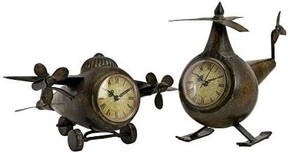 ساعات طيران من اي ماكس 12708-2 ، برونزي، طقم 2 ساعة