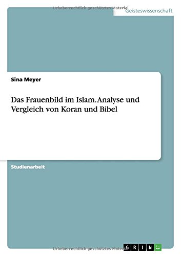Das Frauenbild im Islam. Analyse und Vergleich von Koran und Bibel