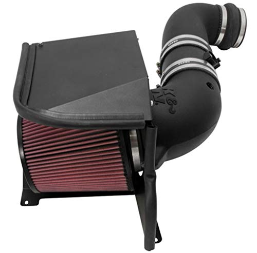 K&N Cold Air Intake Kit: High Performance, Guaranteed to Increase Horsepower: 50-State Legal: 2011-2014 Chevy/GMC Heavy Duty (Silverado 2500/3500 HD, Sierra 2500/3500 HD) 6.6L V8 Diesel,57-3077