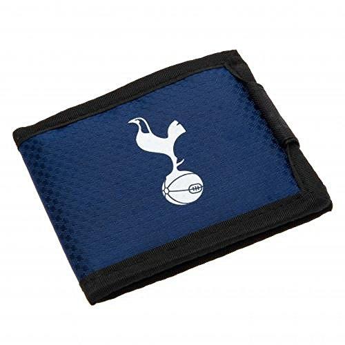 Tottenham Hotspur FC officiële voetbalcadeau nylon portemonnee - een geweldig kerstcadeau/verjaardagscadeau voor mannen en jongens