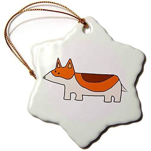 Dant454ty Funky Welsh Corgi Puppy Dog Cartoon Christmas...