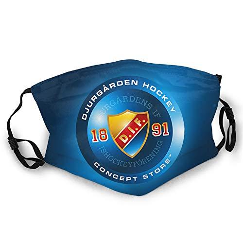 Djurg-ardens if - Protección contra el polvo para la cara y las orejas de algodón para adultos, para ciclismo o cosplay