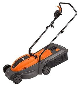 Ferm LMM1012 Cortacésped eléctrico, 1300 W, 240 V, Naranja y Negro
