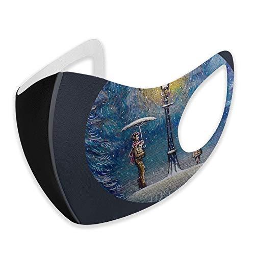 Narnia Waschbare Gesichtsmaske, magische Laterne, hautfreundlich, atmungsaktiv, weich, wiederverwendbar, langlebig, Sturmhaube, für Party, Reisen und den täglichen Gebrauch