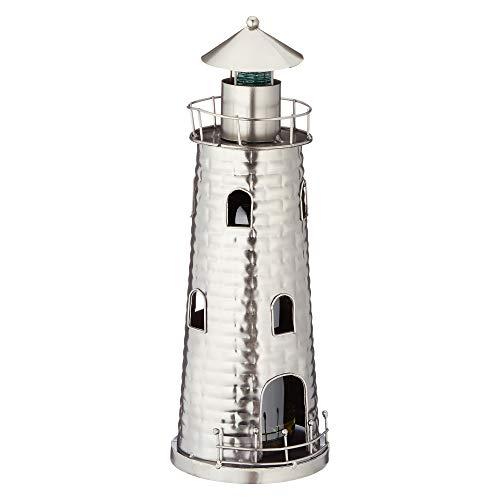 Cepewa wunderschöner Flaschenhalter,Weinflaschenhalter Leuchtturm, Größe ca. 28cm