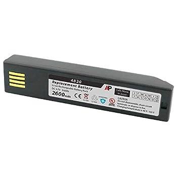 Artisan Power Honeywell 3820 4820 6320 & Xenon 1902  Replacement Battery 2600 mAh