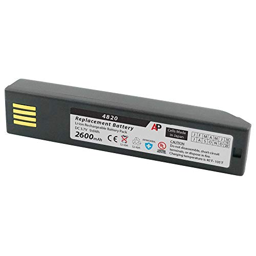 Artisan Power Honeywell 3820, 4820, 6320 & Xenon 1902: Replacement Battery. 2600 mAh