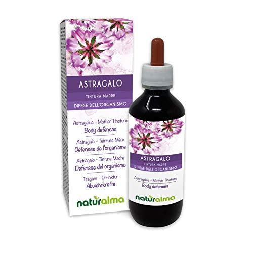 Astragalus (Astragalus membranaceus) Roots Alcohol-Free Mother Tincture Naturalma | Liquid Extract Drops 200 ml | Food Supplement | Vegan