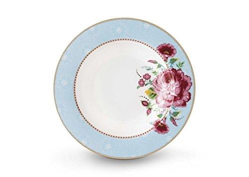 PiP Geschirr Rose Blue, Suppenteller 21,5 cm