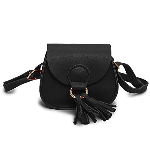 JUMISEE Women & Girls Saddle Bag Crossbody Purse Shoulder Bag with Tassel - http://coolthings.us