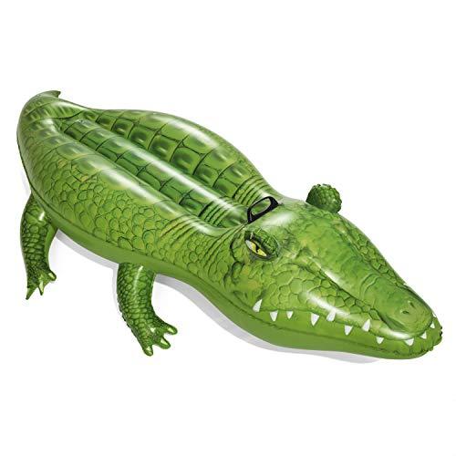 Bestway 41010 Crocodile Rider 168x89 cm, Schwimmtier, Multicolor