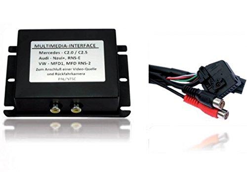 Multimedia Interface Adapter DVD VIDEO DVB-T Radio Navi MFD 2 RNS2 RNS 2