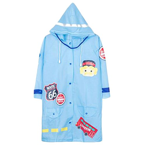 Belle Raincoat Raincoat Imperméable de Toddler Unisex Kid, Bleu