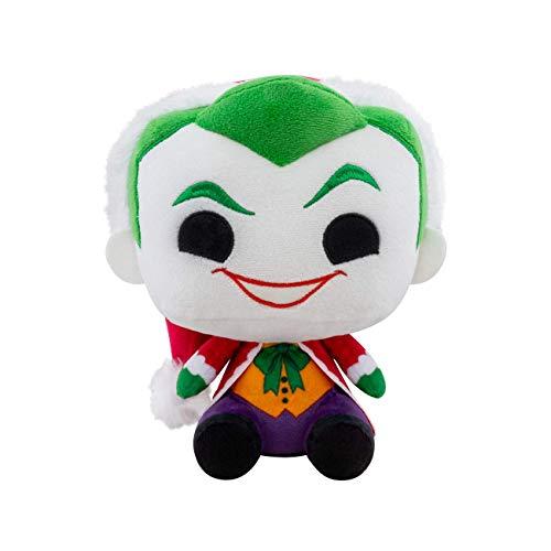 Funko- Pop Plush: DC Holiday-Santa Joker Comics Figura Coleccionable, Multicolor (51063)
