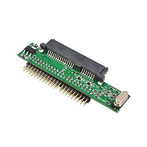 Mogzank 7 + 15 Pin Sata Ssd HDD Hembra A 2.5 Pulgadas 44Pin IDE Macho Adaptador para Ordenador Portátil