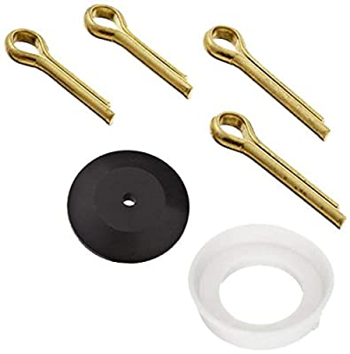 Robert Manufacturing KB140 Bob 6 Piece Standard Disc and Cup Kit for R600 Series Brass Float Valves from Control Devices