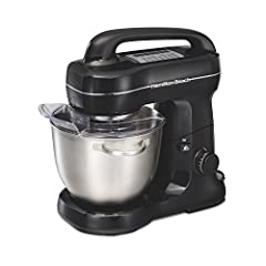 Same mixing action as KitchenAid stand mixers. This mixer performs better than 2-beater stand mixers, and features the popular tilt-up head design for adding ingredients and changing attachments quickly. Baking with ease: Effortlessly mix thick batte...