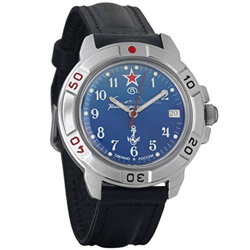 Vostok Komandirskie, orologio meccanico, marina militare russa, 2414 431289
