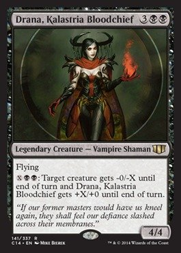 Magic The Gathering - Drana, Kalastria Bloodchief - Commander 2014