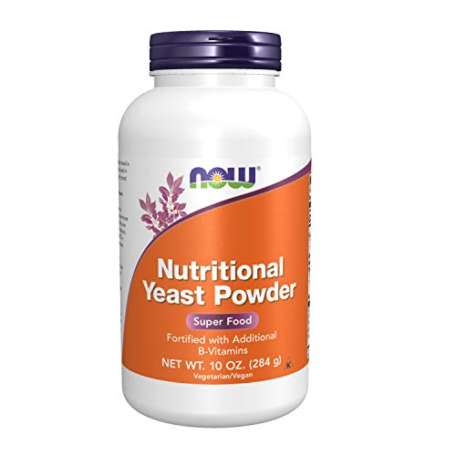 NOW Nutritional Yeast Powder,10-Ounce