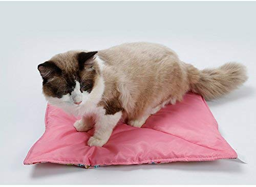 GJDLLC Pink Crate Liner for Cats or Dogs with Cute Fish Design (Measures 18.5' by 16') Machine...