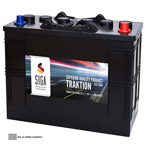 155Ah 12V Panzerplatte (PZS) Batterie Antrieb Hubwagen Hebebühne Solar Traktionsbatterie 110Ah 115Ah