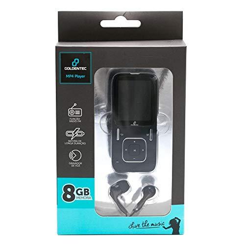 MP4 Player 8GB LCD 1.8' Goldentec Sport A1809 Preto
