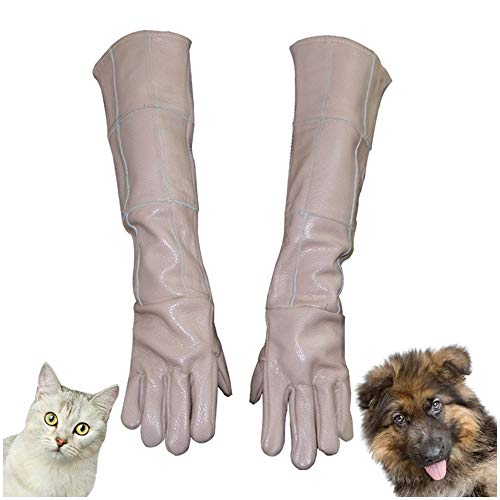 LUCKFY Tierbehandlung Anti-bite/Scratch-Handschuhe für Hund Katze Frettchen Vogel Wilde Tierbehandlung Wilde Tiere Schutzhandschuhe