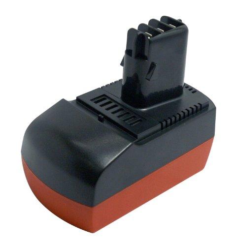 PowerSmart® 14,40V 3000mAh NiMH Batterie de remplacement pour METABO BSZ 14.4, BSZ 14.4 Impuls, SBZ 14.4 Impuls, SBZ14.4 Impuls, ULA9.6-18, passt Part No. 6.25475, 6.25476 Batterie outils