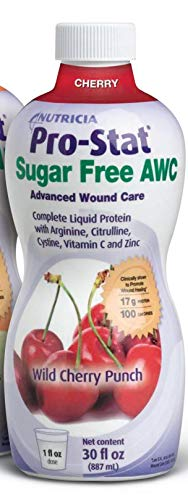 Pro-Stat Sugar Free AWC Protein Supplement Wild Cherry Punch Flavor 30 oz. Bottle Ready to Use, 40130 - Each
