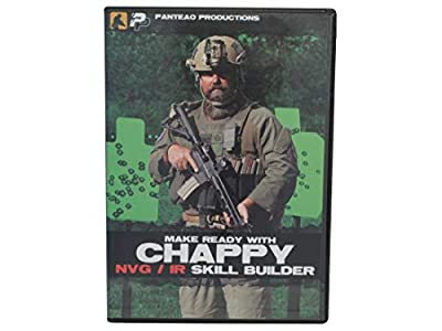 Panteao Productions: Make Ready with Chappy NVG/IR Skill Builder - PMR036 - LMS Defense - Night Vision - IR - Low Light - Night Shooting - NVG - EAG Tactical - DVD