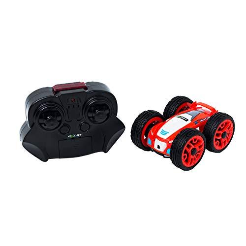 EXOST - Voiture Télécommandée - 360 Mini Flip - Conduite sur 2 Faces - Ultra Petite, Ultra Nerveuse - Disponible en 2 Couleurs - Jouet Echelle 1:34