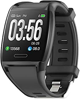 Fitness Tracker, Activity Tracker Fitness Watch with Heart Rate Monitor, Blood Pressure Monitor, IP67 Waterproof Smart Watch with Sleep Monitor, Calorie Counter, Pedometer