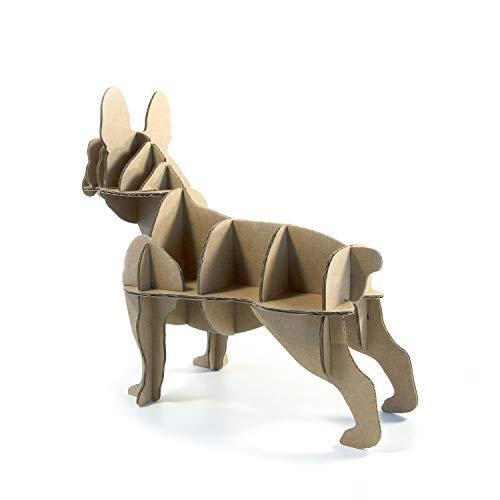 Regalos Amantes Perros - Mini Bulldog - Bulldog francés - Decoración - Perro - Cartón - Regalo ecológico