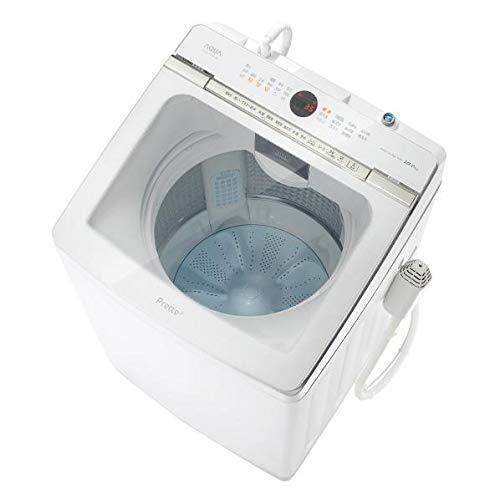 AQUA 10.0kg全自動洗濯機 Prette(プレッテ) ホワイト AQW-GVX100J(W)