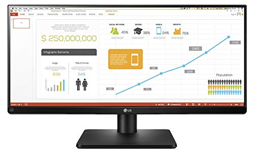 Lg 34UB67-B Monitor da Office 34