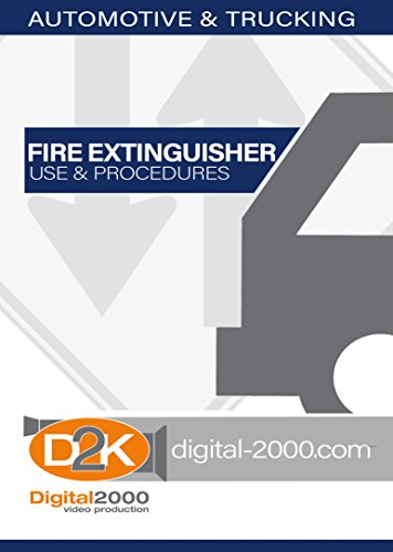 Automotive Industry - Fire Extinguisher Use and Procedures Safety Training DVD