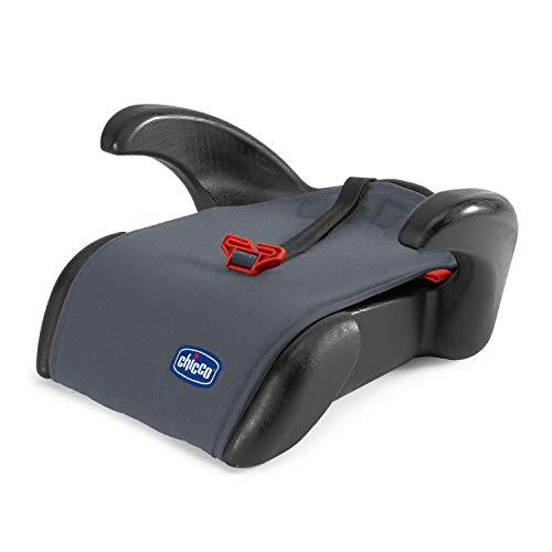 Chicco Quasar Plus Rialzo Auto 15-36 kg Gruppo 2/3, Rialzo Auto per Bambini da 3 a 12 Anni, Facile da Installare, con Comodi Poggiabraccia e Guida-Cintura - Grigio