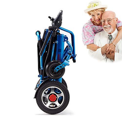 POEO Rollstuhl, zusammenklappbarer Sportrollstuhl, Elektrorollstuhl Li-ion-akku Für Die Wohnung,ältere Und Behinderte Menschen