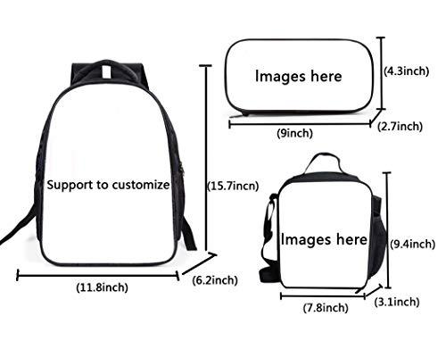 41SxFEXxc8L - The Si-mps-ons - Juego de mochila escolar con bolsas de almuerzo y estuche ligero para viaje para niños y niñas