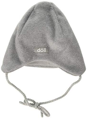 Döll Unisex Baby Binde-Inkamütze Fleece Mütze, Grau (Light Gray Melange 8100),...