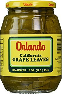 Orlando California Grapes Leaves, 16 Ounce (Pack of 6)